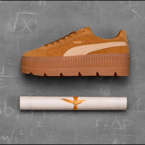 3adf3e825c2717 Puma X Rihanna Fenty Cleated Creeper Sneakers
